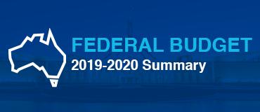 Federal Budget 2019-2020 Summary