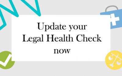 Covid19: Now is the perfect time to do a Legal Health Check