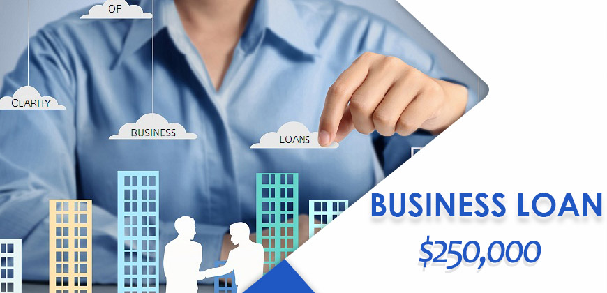 Information on business loans $250000