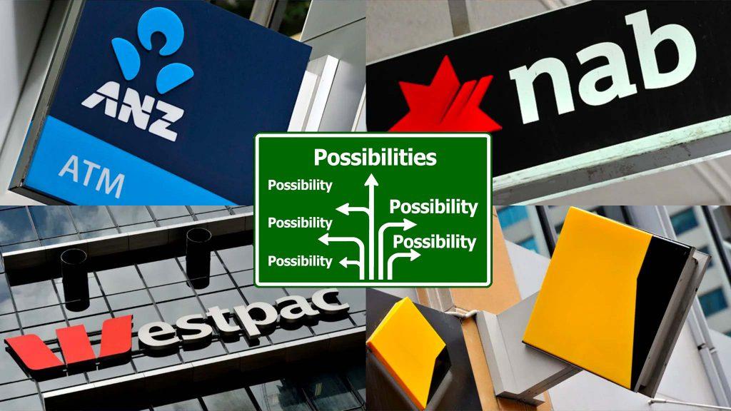 The big 4 Australian banks